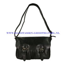 N35 Handtas Mandoline md-7151 zwart