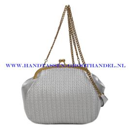 N35 Handtas Ines Delaure 1682615 zilver