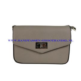 N33 Handtas Flora & Co 6529 gris souris (grijs)