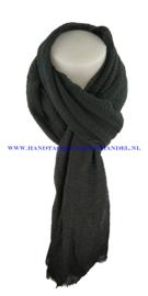 N5 sjaal enec-631 zwart