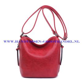N27 Handtas Ines Delaure 1682059 marsalla (rood)