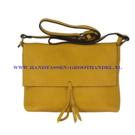 N34 Handtas Flora & Co 8045 moutarde (mosterd - geel)