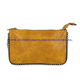 N27 Handtas Flora & Co 6738 moutarde (geel)