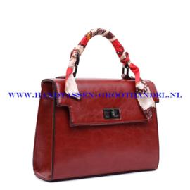 N38 Handtas Ines Delaure 1682239 brique (rood - camel)