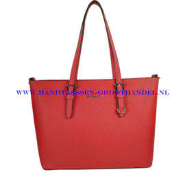 N39 Handtas Flora & Co F9126 rood