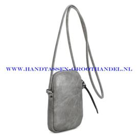 N20 Handtas Ines Delaure 1682588 zilver-grijs