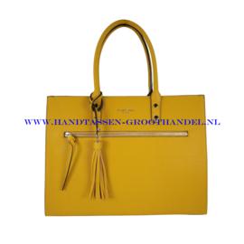 N40 Handtas Flora & Co 8023 moutarde (mosterd - geel)