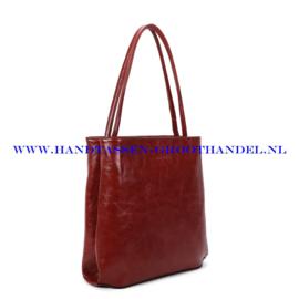 N112 Handtas Ines Delaure 1682213 brique (bruin - rood)