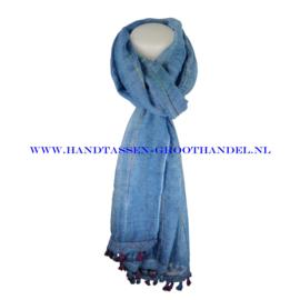 N113 sjaal ENEC-320 blauw