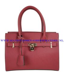 N40 Handtas Flora & Co 6380 bordeaux