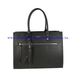 N40 Handtas Flora & Co 8023 zwart
