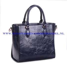N38 Handtas Ines Delaure 1681709 blauw