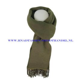 N21 sjaal ENEC-807 kaki (groen)