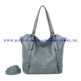 N117 Handtas Ines Delaure 1682863 gris sauge (grijs)