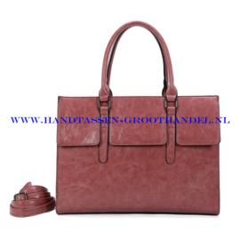 N41 Handtas Ines Delaure 1682781 bois de rose (roze)