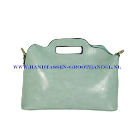 N35 Handtas Ines Delaure 168018 munt (groen)