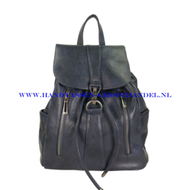 N38 Handtas Flora & Co 6737 blauw
