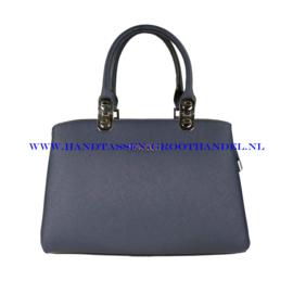 N73 Handtas Flora & Co 9518 blauw