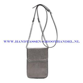 N21 Handtas Ines Delaure 16822592 souris (grijs)