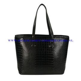 N73 Handtas Flora & Co 8013 zwart