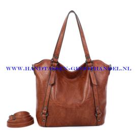 N117 Handtas Ines Delaure 1682863 camel