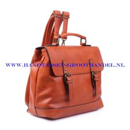 N38 Handtas Ines Delaure 1681652 savane (oranje - camel)