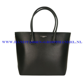 N76 Handtas Flora & Co 9246 zwart