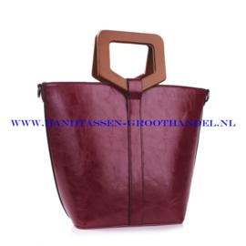 N73 Handtas Ines Delaure 1682182 prune (pruim - paars)