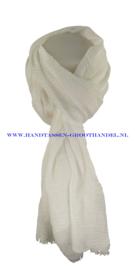 N5 sjaal enec-631 wit