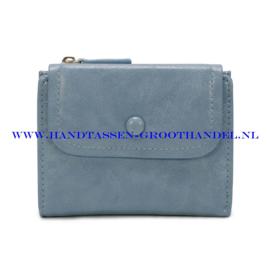 N60 portemonnee Ines Delaure Y8169 ciel (licht blauw)
