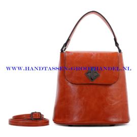 N28 Handtas Ines Delaure 1682348 fauve (bruin - oranje)
