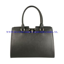 N32 Handtas Flora & Co 6548 zwart