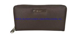 N20 portemonnee Flora & Co k1688 chocolate (bruin)