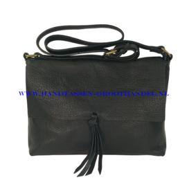 N34 Handtas Flora & Co 8045 zwart