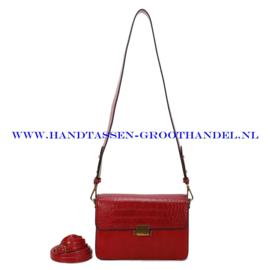 N36 Handtas Ines Delaure 1682665 feu (rood)