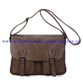 N107 Handtas Ines Delaure 1681731 frappucino (bruin)