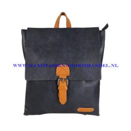 N34 Handtas Flora & Co 6771 blauw