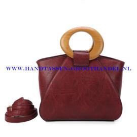 N107 Handtas Ines Delaure 1682209m bordeaux