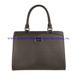 N40 Handtas Flora & Co 6346 chocolat (bruin)