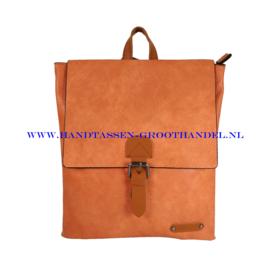 N34 Handtas Flora & Co 6771 oranje (pastel oranje)