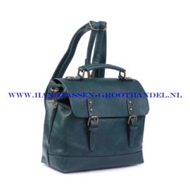 N38 Handtas Ines Delaure 1681652 pin (groen)