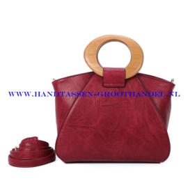 N107 Handtas Ines Delaure 1682209m framboise