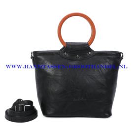 N39 Handtas Ines Delaure 1682852 zwart