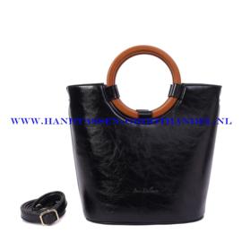N73 Handtas Ines Delaure 1682205 zwart