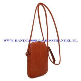 N20 Handtas Ines Delaure 1682588 fauve (oranje - camel)