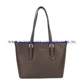 N73 Handtas Flora & Co 9179 chocolat (bruin)