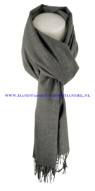 N7 sjaal ENEC-800 nuage grijs (donker grijs)