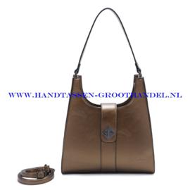 N72 Handtas Ines Delaure 1682517 cuivre (brons - goud)