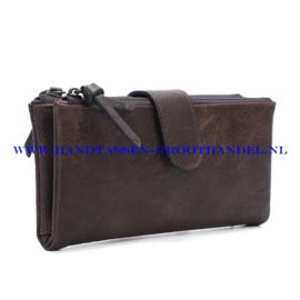 N18 portemonnee Ines Delaure E011 marron (bruin)