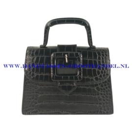 N32 Handtas Flora & Co 8019 zwart